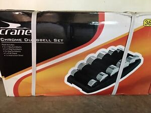 Dumbbell set - Chrome Echuca Campaspe Area Preview