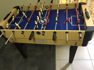 Attachable Fooseball Table and Functioning Air Hockey Table Lyndoch Barossa Area Preview