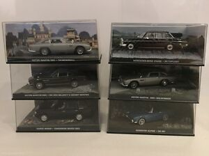 James Bond Collectable Cars x 32 Landsdale Wanneroo Area Preview