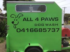 All 4 Paws Mobile Dog wash Prices Starting from $25 Werribee Wyndham Area Preview
