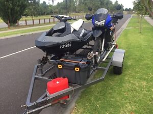SEA DOO Spark twin double trailer fits motorbike and camping gear 3up Berwick Casey Area Preview