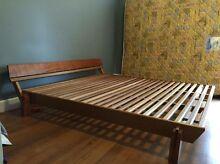 King size timber bed Shepparton Shepparton City Preview