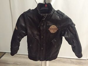 H & M boy's leather jacket Lynbrook Casey Area Preview