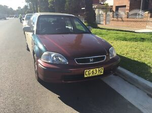 Honda Civic Model 2000 Cheap Campsie Canterbury Area Preview