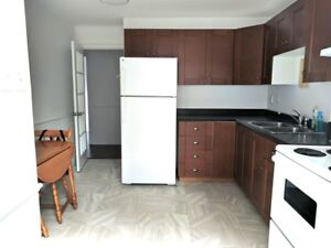 Above Ground 1 Bedroom Apartment in West End