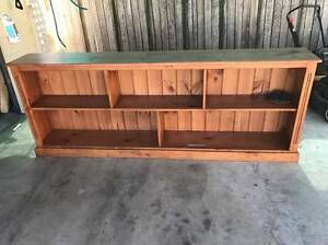 2x Wooden Bookcases/Shelves Merrylands Parramatta Area Preview