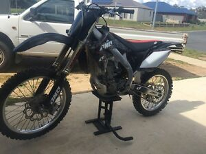 2009 CRF450R Thurgoona Albury Area Preview