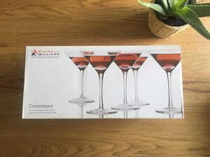 New Maxwell Williams martini glasses x6 Wattle Grove Liverpool Area Preview