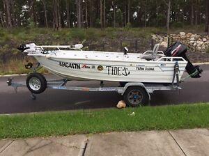 Stessel 4.3m boat Cameron Park Lake Macquarie Area Preview