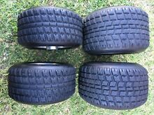 Go kart 2nd set of rims with maxxis wets or dirt tyres Rooty Hill Blacktown Area Preview