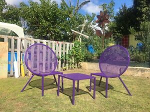 Funky purple chairs Eden Hill Bassendean Area Preview