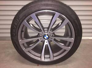 """BMW 2016 Genuine X5 Alloy Rims + Tyres 20"""" Pascoe Vale Moreland Area Preview"""