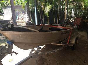 3.4m tinny 15hp two stroke Yamaha Gunn Palmerston Area Preview