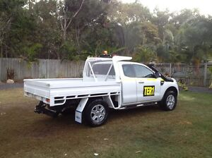 Steel tray ford ranger Airlie Beach Whitsundays Area Preview