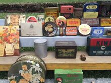 Old Tins and a Money Box Soldiers Point Port Stephens Area Preview