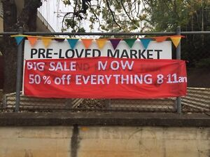 Pre loved market 50% off today only Toowong Brisbane North West Preview