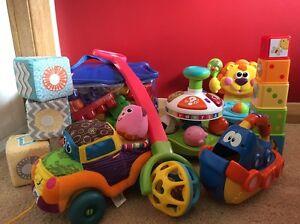 Bulk lot of baby toys Latrobe Latrobe Area Preview