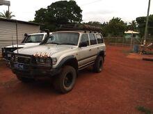 96 gxl turbo petrol Toyota landcruiser 80 series Seisia Cook Area Preview