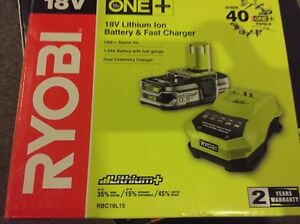 Ryobi battery and charger Reservoir Darebin Area Preview