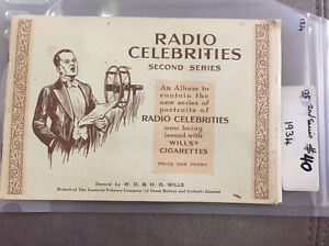 1935 Radio celebrities albums cigarettes cards Trinity Park Cairns Area Preview