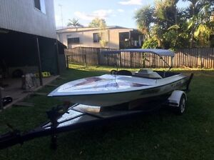 1994 Sleekline Ski Boat 350 Chev Mount Sheridan Cairns City Preview