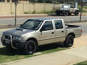 2002 Holden TF Rodeo LX Turbo Diesel 4WD Lakelands Mandurah Area Preview