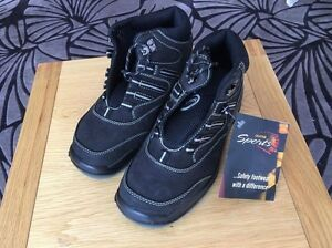 Oliver men's steel capped safety work boots - size 6 - brand new Brighton East Bayside Area Preview