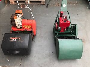 2 x cylinder mowers Torrens Park Mitcham Area Preview