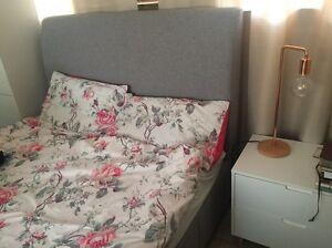 Snooze Storage Queen Bed $2,699rrp basic headboard under 12 mths Mount Gravatt Brisbane South East Preview