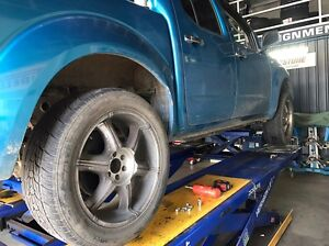 """20"""" Nissan navara d40 rims and tyres 265/50r20 Muswellbrook Muswellbrook Area Preview"""