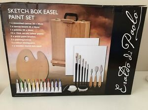 Sketch Box Easel Paint Set Coogee Cockburn Area Preview