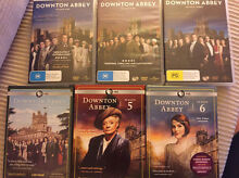 Downton Abbey DVDs Full Set All seasons 1-6 Mortlake Canada Bay Area Preview