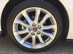 "18"" Mazda 3 2016 SP25 GT rims plus Dunlop tyres 5x114.3 Heathwood Brisbane South West Preview"
