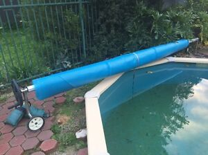 Solar Pool Blanket Cover & Roller *MAKE AN OFFER* Ingle Farm Salisbury Area Preview