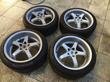 18x8.5, 18x9.5 w/ tyres *Suit jap cars* 5x114.3 Eastgardens Botany Bay Area Preview