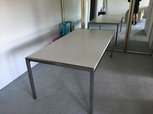 White dining room table Moore Park Inner Sydney Preview