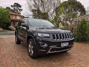 Jeep Grand Cherokee Overland 2014 Ringwood North Maroondah Area Preview