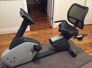 Recumbent Exercise Bike Commercial Grade Hamilton Newcastle Area Preview