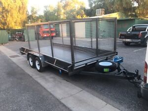 Caged car trailer built to order Smithfield Playford Area Preview