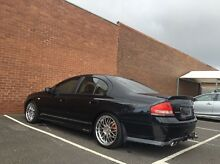 5spd Manual BA XR6 Ford Falcon leather seats Hampton East Bayside Area Preview