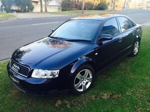 Audi A4 1.8T Quattro 2003 Sedan Manual Low Klms Kellyville The Hills District Preview