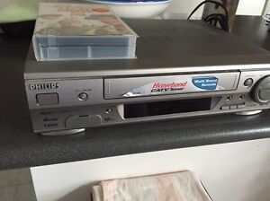 Philips VHS Player With Remote & Video Green Valley Liverpool Area Preview