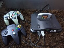 N64 with 2 Controllers and Banjo- Kazooie Highgate Perth City Preview