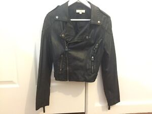 Leather Jacket - size 7 Westminster Stirling Area Preview