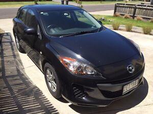 2012 Black Mazda 3 Hatch Safety Beach Mornington Peninsula Preview