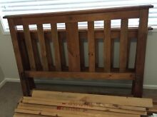 Solid wood double bed frame McGraths Hill Hawkesbury Area Preview