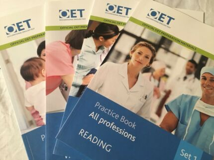 English test materials (OET, PTE, IELTS)