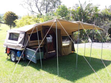 Elegant Outback Camper Trailer Brisbane