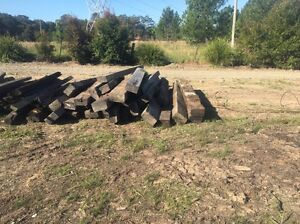 Railway sleepers Wyong Wyong Area Preview