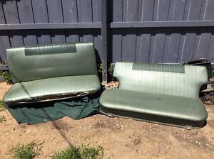 Eh Holden front and back seats Blairgowrie Mornington Peninsula Preview